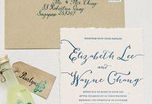 Wedding of Wayne & Liz by Rosette Designs & Co