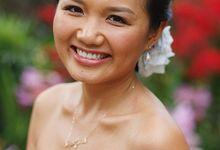 Jessica - Garden Wedding At Burkill Hall by Karis Chiu Makeup