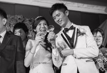 Actual Wedding Day - Jiahui & Jewel Church Ceremony by A Merry Moment