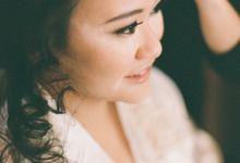 The Wedding of Jo & Evelyn by Feliana Osadi Makeup Artist and Hairdo