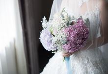 Jonathan and Aulia wedding day by SS Florist