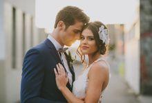 Justin Lane Weddings Campaign by Tiara bridal artistry
