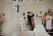 Kenneth & Francesa Wedding - Holy Matrimony by Camio Pictures