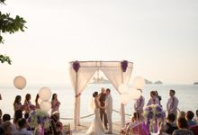 Karen & Jake wedding at Conrad Koh Samui by BLISS Events & Weddings Thailand