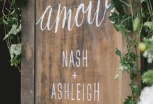 Ashleigh & Nash by Darling Don't Panic