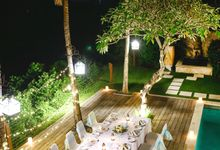 Karma Lounge by The Pool Wedding by Karma Jimbaran