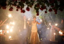 Lots of Sparks at Tamarind Hill by Chere Weddings & Parties