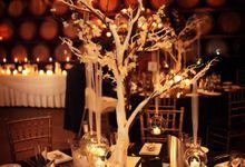Joanne & Kirk by Carte Blanche Wedding Design