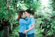 Jerbee and LG Engagement Session by karlperez studio