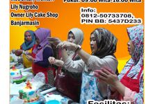 Kursus Dekorasi Fondant  Tingkat Dasar Angkatan ke-10 by Lily Cake Shop Banjarmasin