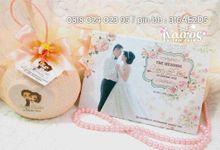 Henry & Vina Wedding by Kairos Wedding Invitation