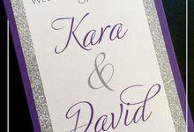Kara & David by Envite Studio
