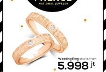 Wedding Ring Special Price by THE PALACE Jeweler