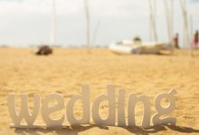 Beach wedding by Bali Angels