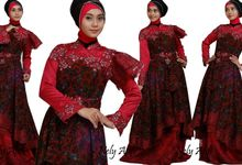 Wedding Dress Muslimah Batik Lace by Wedding Dress Muslimah Designer