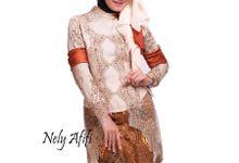 Kebaya Modern Batik Prada by Wedding Dress Muslimah Designer
