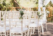 A Selection of Wedding Furniture we have available by Chic Rustique