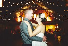 Industrial Chic Wedding by Bri Johnson Weddings