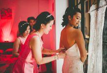Lush Tropical Garden Wedding by Chere Weddings & Parties