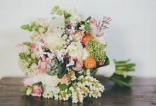 A Mango Hill Farm elopement by Ginger Lily & Rose Floral Studio