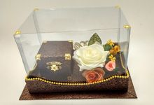 Kotak Perhiasan, Kotak Cincin Nikah by RAQ Craft