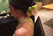 Brides Actual Day by Carmen Makeup & Hair