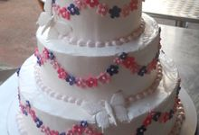 Three Layer Cakes by Cakes and Memories Bakeshop