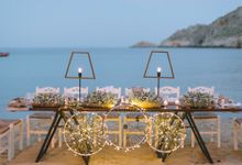 Boho chic destination wedding in the Greek island of Serifos by MBW events