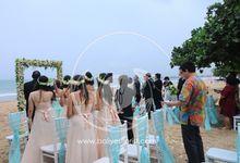 Edward & Diana Wedding by Bali Yes Florist