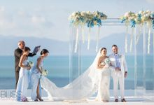Lamphay and Paolo wedding by BLISS Events & Weddings Thailand