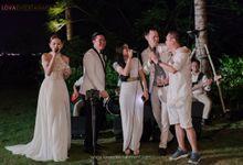 WEDDING OF JANE AND DAREN AT AYANA RESORT BALI by LOVA BAND ENTERTAINMENT BALI