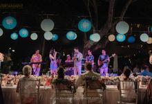 WEDDING OF J & B AT LEGONG KERATON BEACH HOTEL by LOVA BAND ENTERTAINMENT BALI