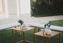Wedding at Villa Sayang damour by We Do Bali Weddings