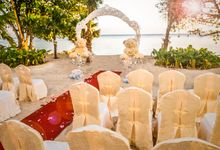 Beach Wedding Setup at Lexis Suites Penang by Lexis Suites Penang