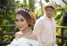 Wahyu & Mega prewedding by Luxima Photography