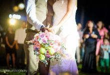 Livia & Bram Wedding day by Luxima Photography