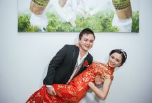 Chinese Red Wedding by The Kirana Hotel, Resto and Spa - Canggu