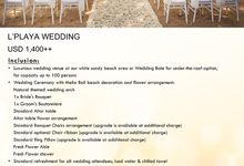 New Wedding Package by Meliá Bali Indonesia