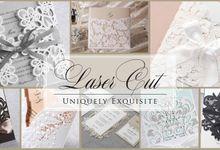 Laser Cut Wedding Invitations by PAPEROSE WEDDING SDN. BHD.