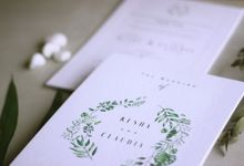 Resha & Claudia by Dipapier Design