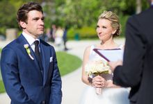 Real Wedding of Bridget & Brian by Luxe Paris Events