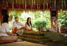 Fire Blessing Ceremony by Fivelements Bali Retreat