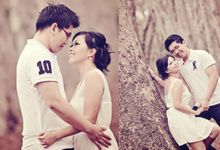 Pre Wedding | Linawaty & Eric by Felicia Sarwono Makeup Art