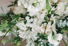 Romantic Real Wedding by Stone House Creative