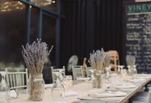 Lavender Love for Yong Xi and Linh by MerryLove Weddings