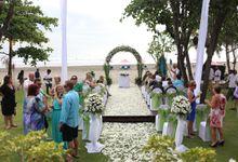 Lisa & Paul Wedding by Anantara Seminyak Bali Resort
