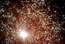 Firework In Lombok by lombok wedding planner