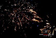 Firework In Lombok by lombok wedding planner