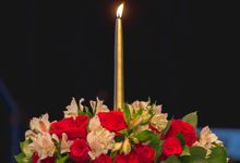 Church Wedding Flowers by Floraphil