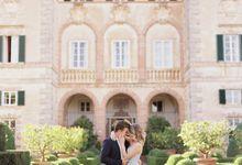 Srping Villa Cetinale Engagement Shoot by Jen Huang Photo